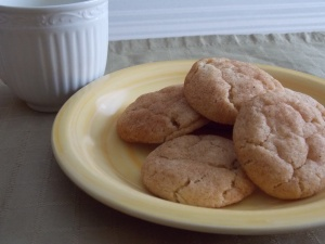 Brown Sugar Snickerdoodles prove convenience food can taste good!